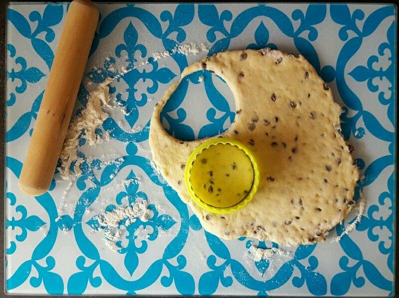Recette scones anglais bio aux pépites de chocolat étalez la pâte