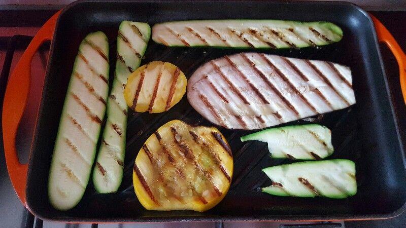 Recette lasagnes végétariennes aux légumes faites griller vos légumes
