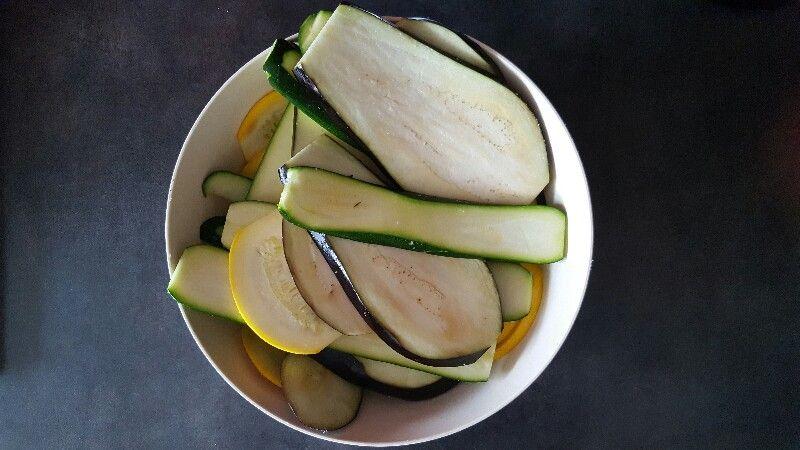 Recette de lasagnes vegetariennes aux legumes grilles salez les legumes